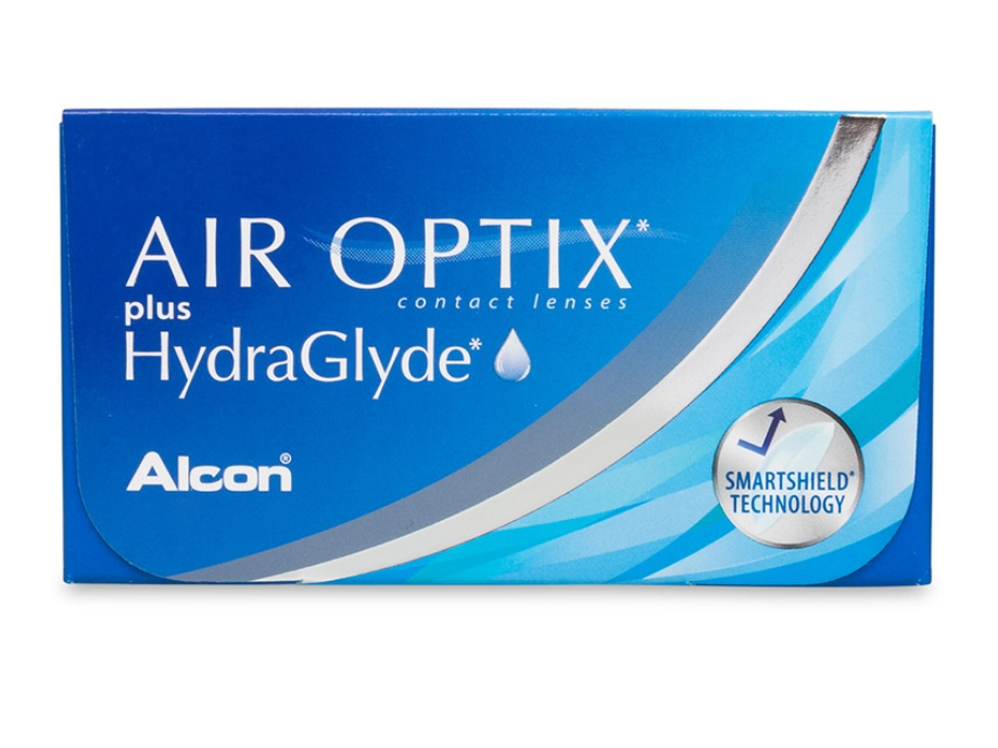 AIR OPTIX plus HydraGlyde (x6)