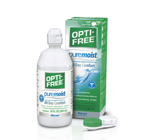 OPTI FREE PUREMOIST Multi-Purpose (solution 300 ml + étui à lentilles)