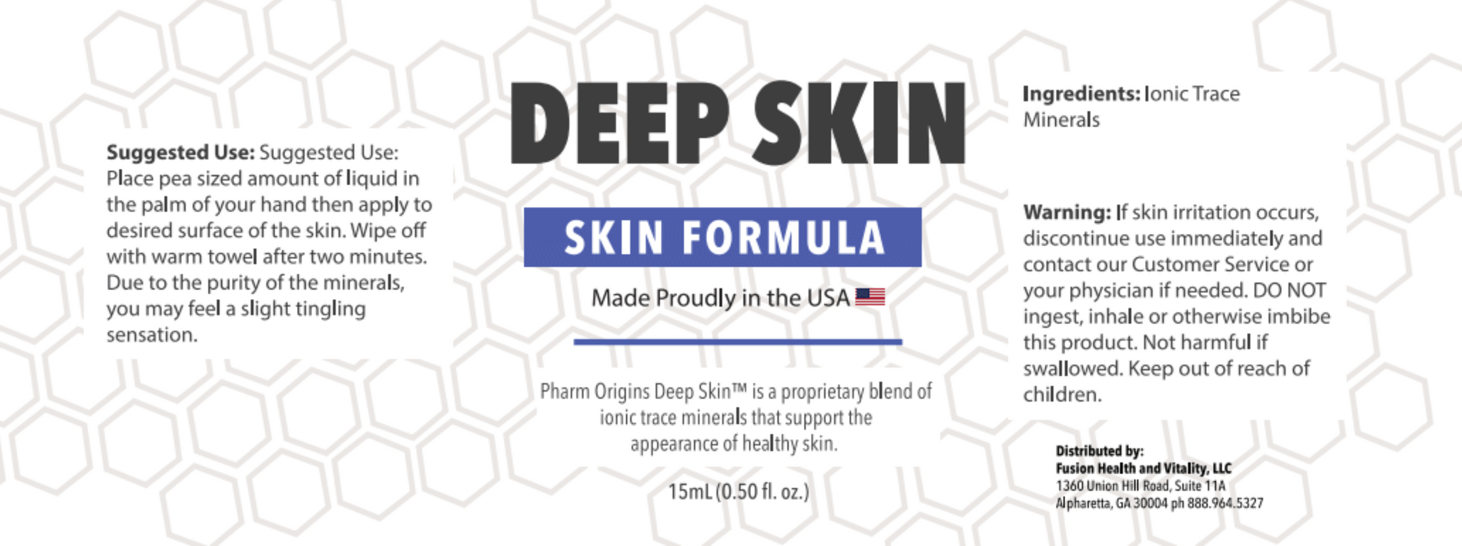 Pharm Origins Deep Skin™