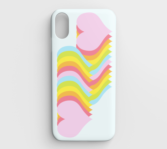 Hearts Below / iPhone Case / iPhone XS Max