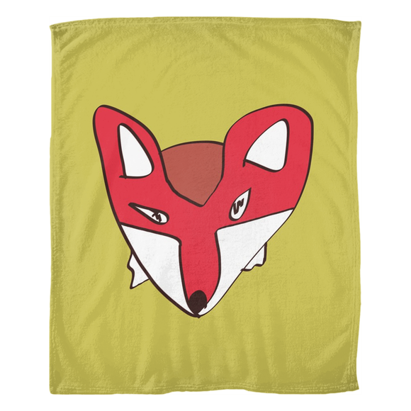 Fox Renard / Fleece Blanket
