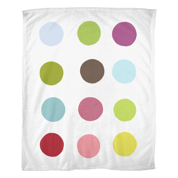Dots / Fleece Blanket