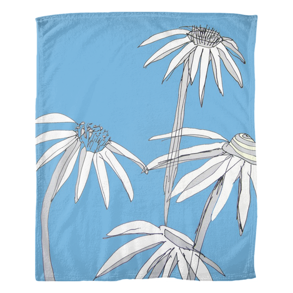 Echinacea / Fleece Blanket
