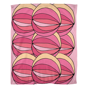 Layered Pinks / Fleece Blankets