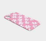 White Flowers Pink / iPhone Case / iPhone X