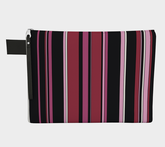 Colour Study 013 / Stripes / Zippered Carry All / Choose One of Four Sizes
