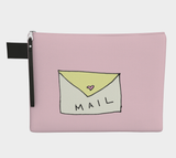 In The Mail / Zippered CarryAll / Choose One of Four Sizes