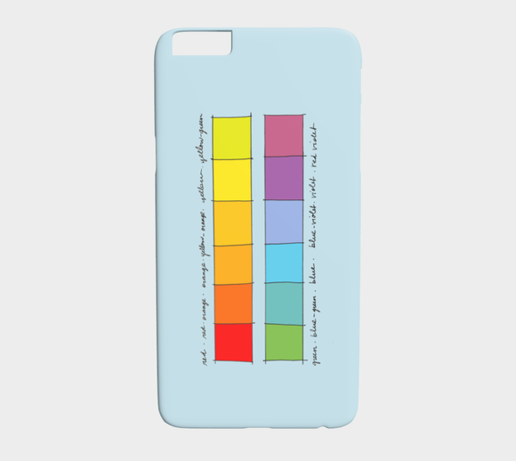 Colour Theory Spectrum / iPhone Case / iPhone 6 Plus & 6S Plus