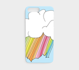 Fantastic Day on Light Blue / iPhone Case / iPhone 7/8
