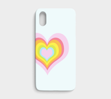 Hearts in Hearts / iPhone Case / iPhone X / XS