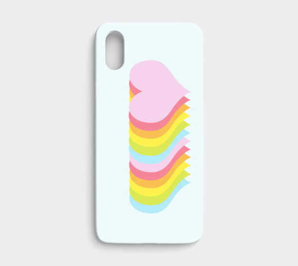 The Line Up / Hearts / iPhone Case / iPhone X / XS