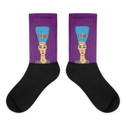 The Royal Bust / Black Footed Socks