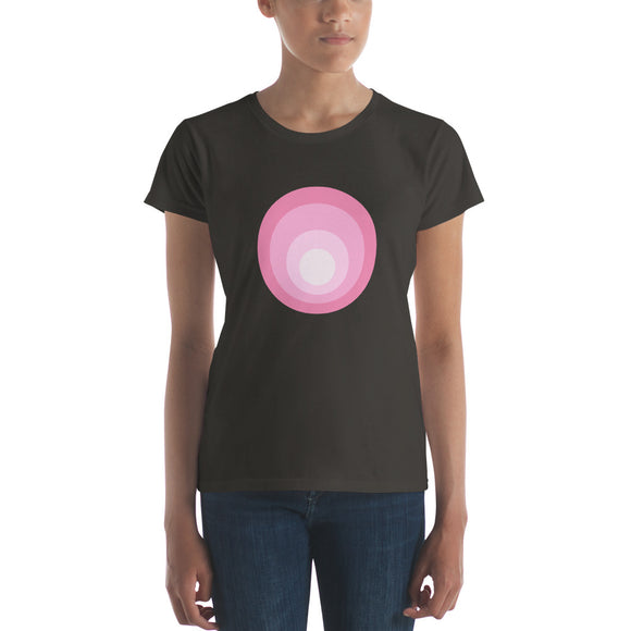 Pink Dots One / Women's Classic Short Sleeve T-Shirt / Sizes S - XL