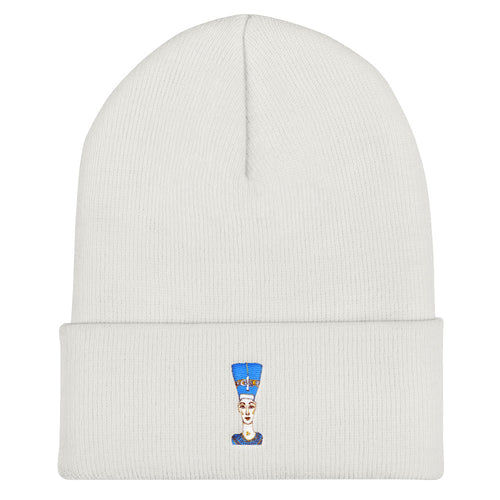 Royal Bust / Embroidered Cuffed Beanie