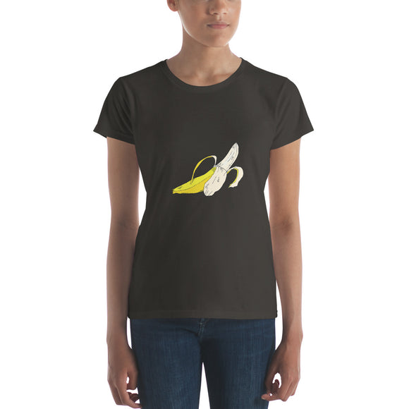 The Banana / Women's Classic Short Sleeve T-Shirt / Sizes S - XL