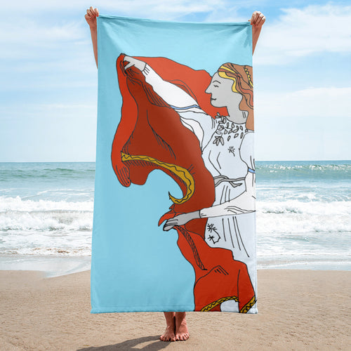The Red Cloak / Beach Towel
