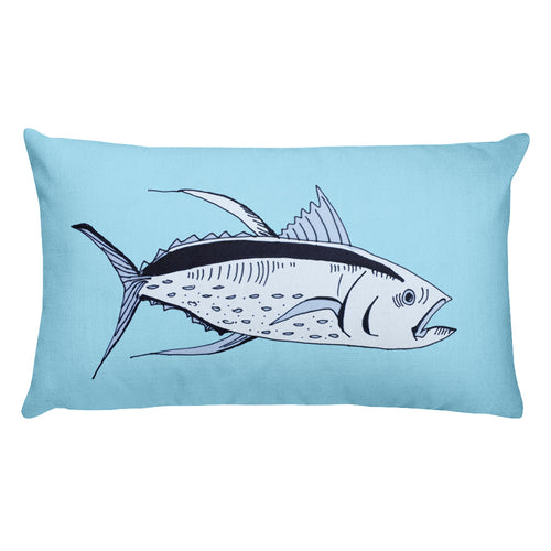 Big Tuna / Rectangular Stuffed Pillow