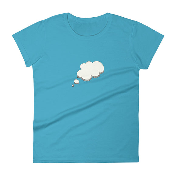 The Bubble / Women's Classic Short Sleeve T-Shirt / Sizes S - XL