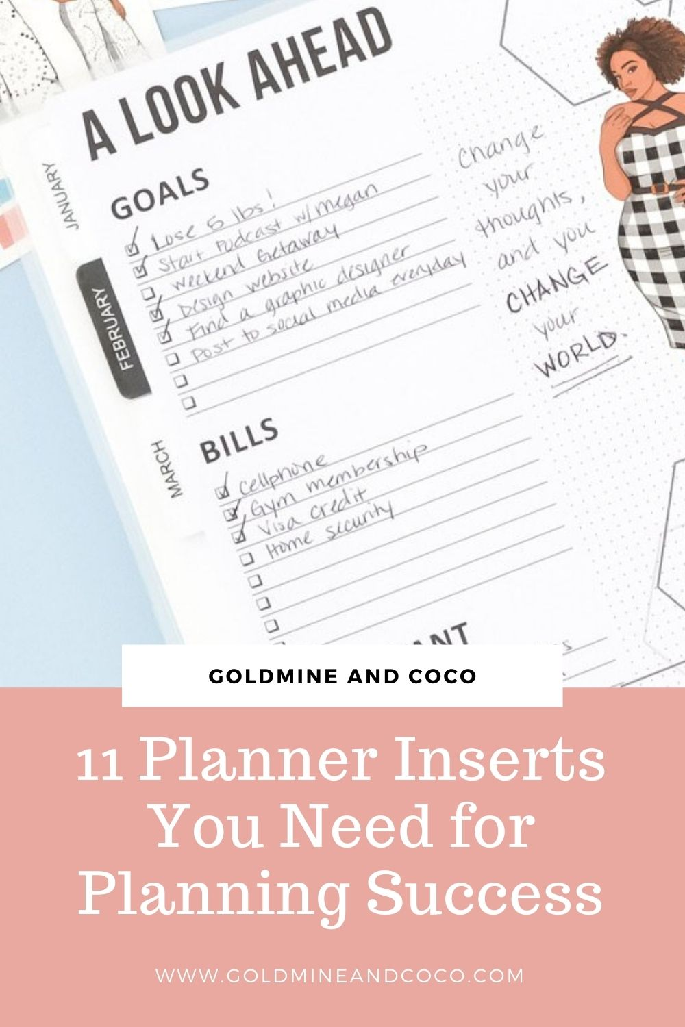 11 Planner Inserts You Need For Planning Success in 2021