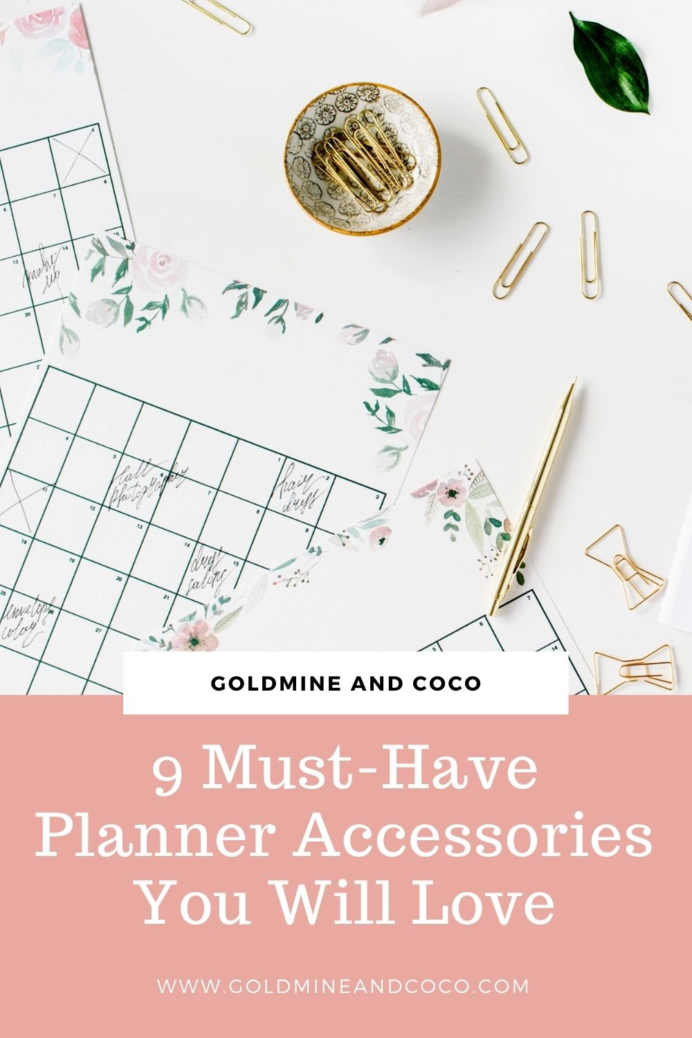 9 Must-Have Planner Accessories You Will Love