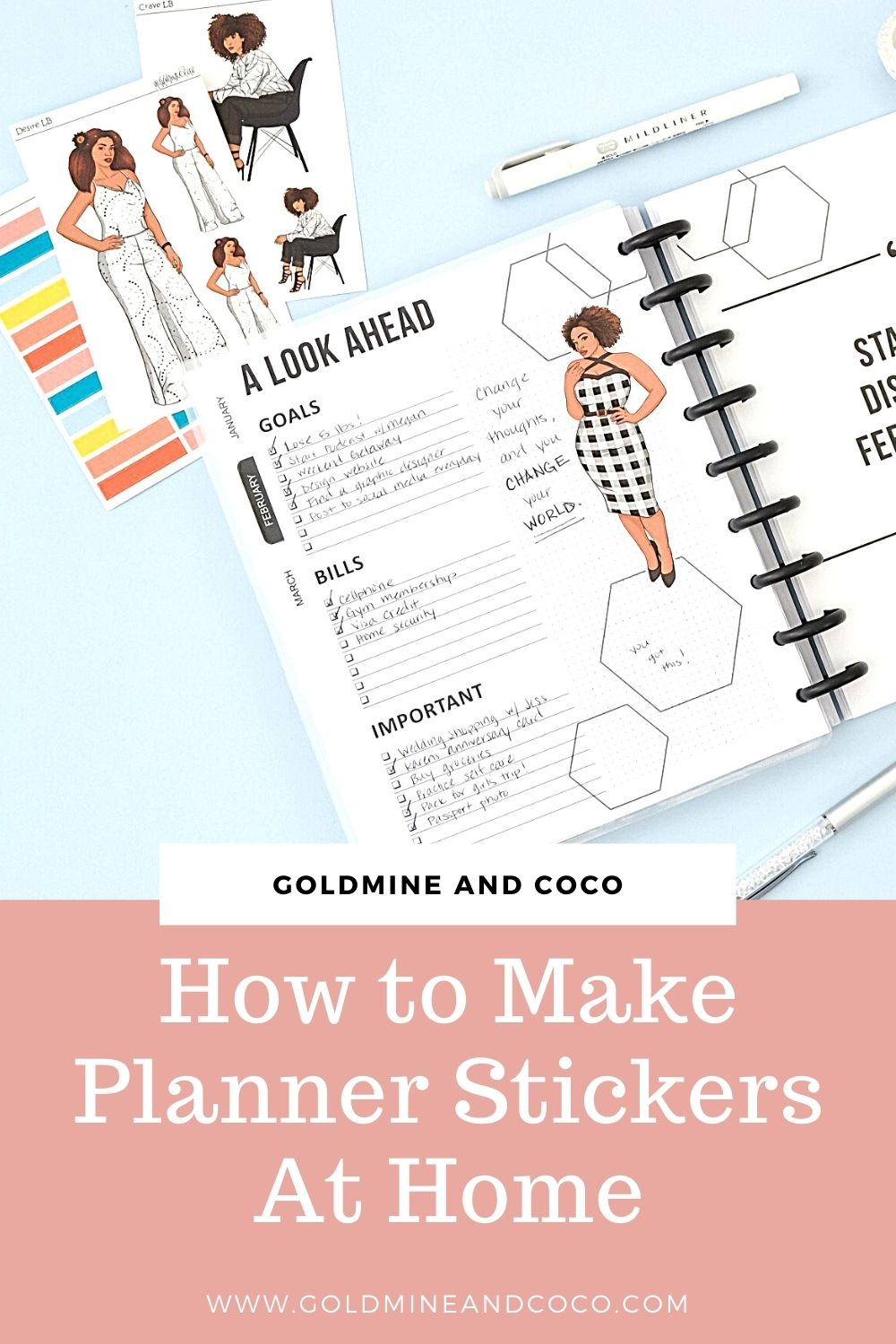 How to Make Planner Stickers By Yourself At Home