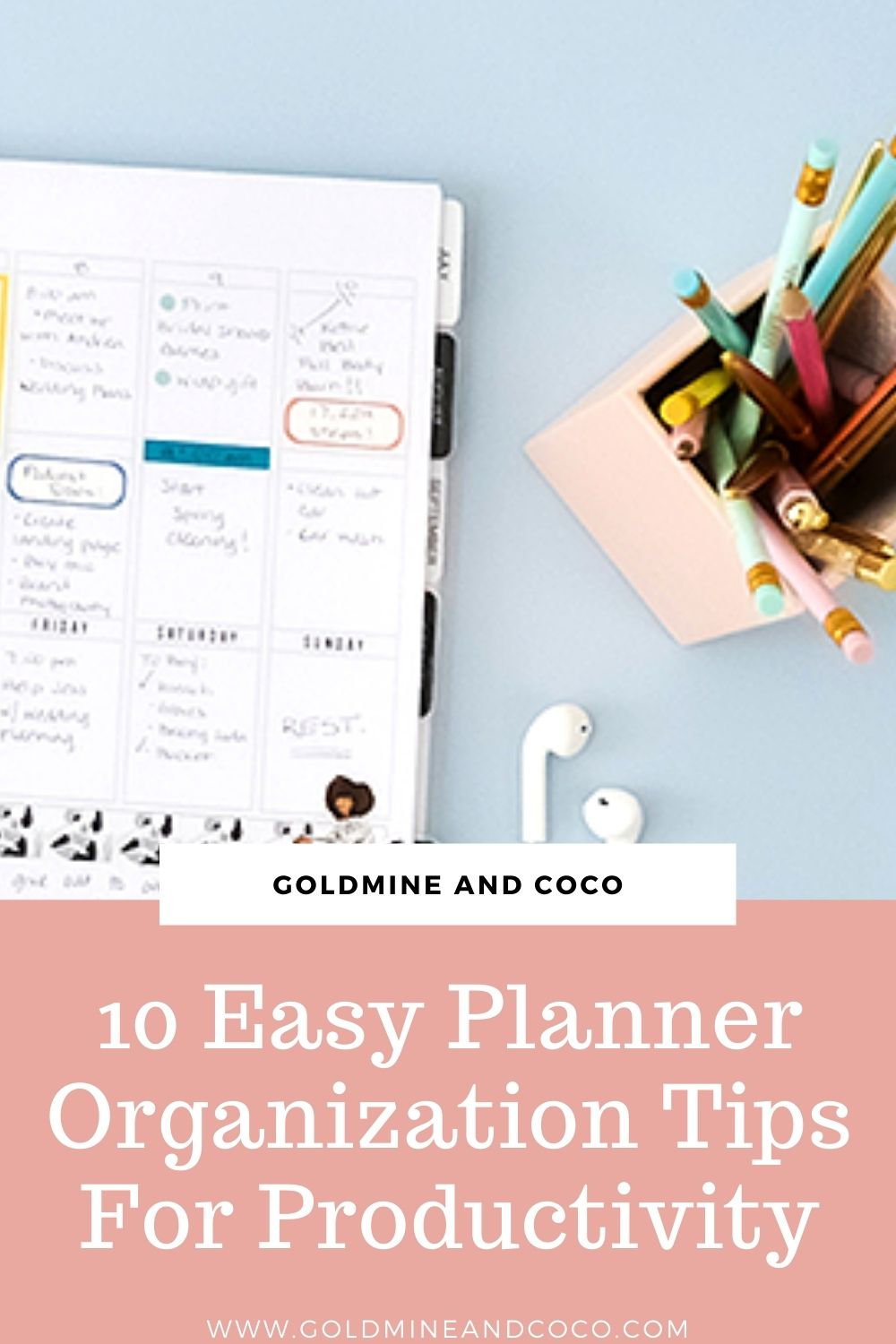 10 Planner Organization Tips To Stay On Top Of Your Day