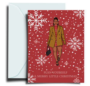 Mistletoe Christmas Greeting Card Collection