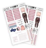 WORK IT OUT Functional Planner Sticker Kit