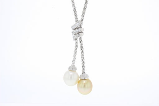 Delilah Pearl Lariat Necklace