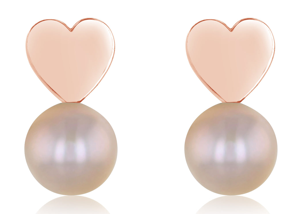 Amor Freshwater Stud Earrings