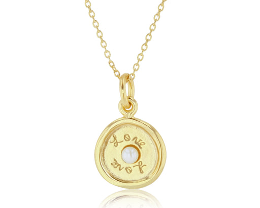 Medallion Love Pendant