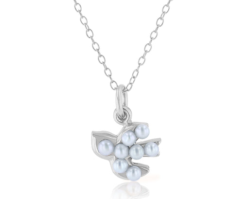Mini Dove Pearl Pendant