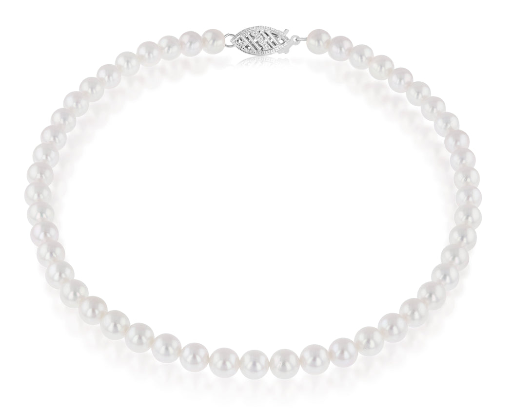7-7.5mm Freshwater Pearl Strands