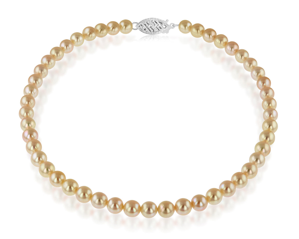 Golden South Sea Pearl Strands