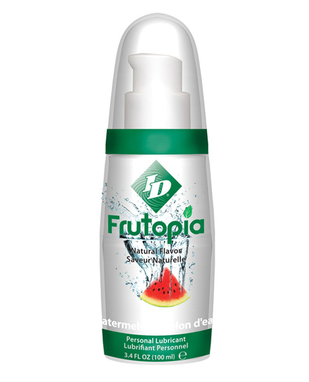 ID Frutopia Natural Lubricant - 3.4 oz Watermelon