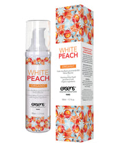 EXSENS of Paris Organic Massage Oil - 50 ml White Peach