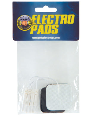 Zeus Electrosex Adhesive Electro Pads - Pack of 4