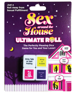 Sex Around the House Ultimate Roll Dice Game