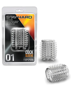 Blush Stay Hard Cock Sleeve 01 - Clear