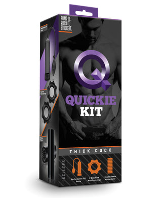 Blush Quickie Kit - Thick Cock
