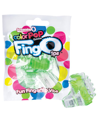 Screaming O Color Pop FingO Tip - Green