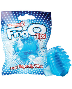 Screaming O FingO Tips - Blue