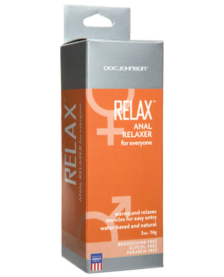Relax Anal Relaxer - 2 oz Tube