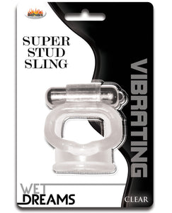 Wet Dreams Super Stud Sling - Clear