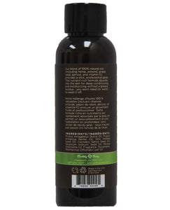 Earthly Body Massage & Body Oil - 2 oz Naked in the Woods