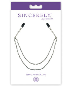 Sincerely Bling Nipple Clips