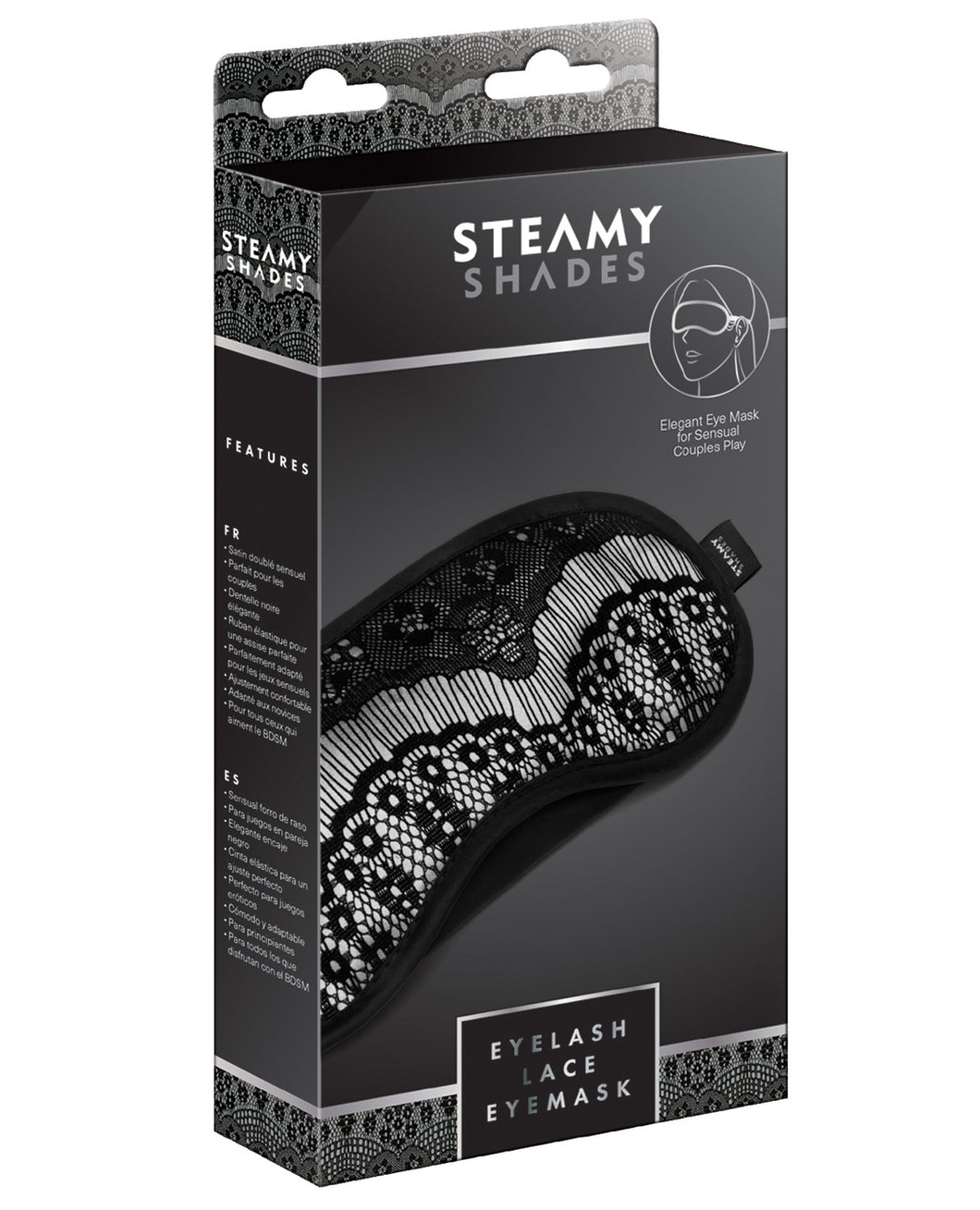 Steamy Shades Eyelash Lace Eyemask