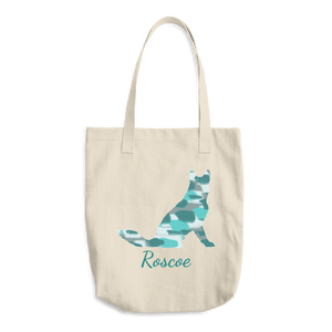 Pup Silhouette Tote