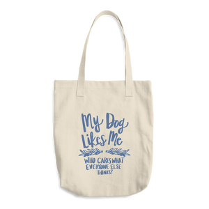 """My Dog Likes Me"" Tote"
