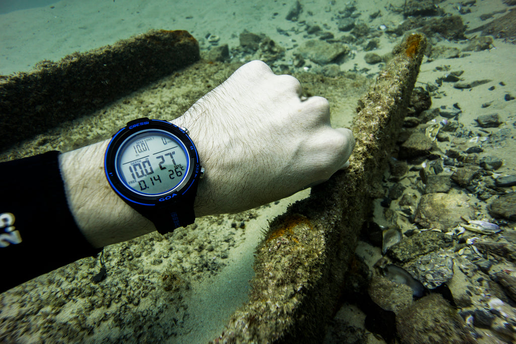 cressi goa spearfishing computer watch